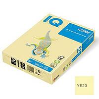 Бумага цветная А4 IQ YE23 желтая