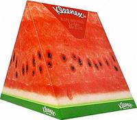 Салфетки в коробке Kleenex треугольник 56 шт.