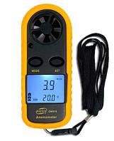 Анемометр ветрометр измеритель скорости ветра и воздушных потоков benetech gm816