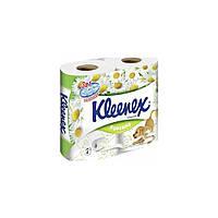 Туалетная бумага Kleenex Ромашки 4 шт.