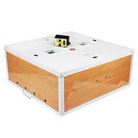 Инкубатор Курочка Ряба с механическим переворотом 130 яиц  аналоговый терморегулятор, края усилены металлом