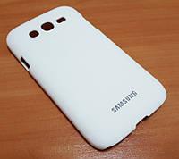 Чехол пластиковый бампер для Samsung i9080, i9082 Galaxy Grand Duos белый