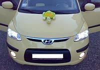 Реснички на фары Hyundai I10 2007-2013 г.в. Хюндай ай10
