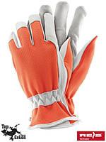 Перчатки защитные, изготовленные из высококачественной козей кожи (перчатки кожаные рабочие REIS) RDRIVER PW