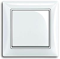 Выключатель 1-клавишный Basic 55 белый 2006/1 UC-94-507