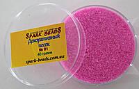 Декоративный песок. Цвет - розовый нежный, 40 грамм.№01