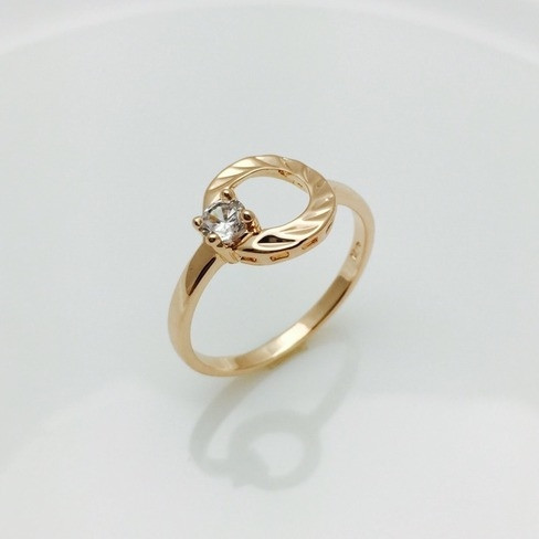 Кольцо колечко, размер 17, 18, 19