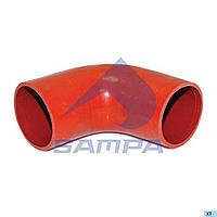 8134300 колено шланга радиатора (90х130/130) красное