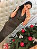 Платье с утяжкой с люриксом., фото 3