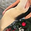 Платье с утяжкой с люриксом., фото 7