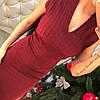 Платье с утяжкой с люриксом., фото 8