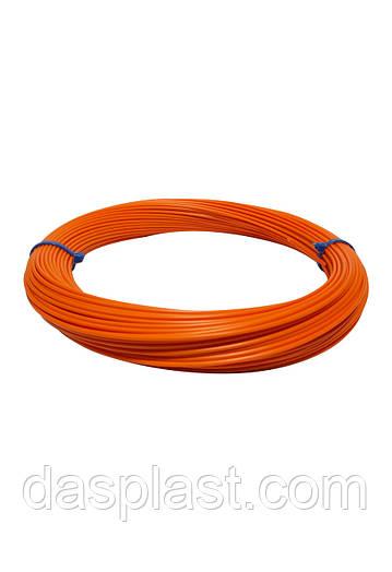АБС пластик оранжевый 1,75 мм для 3d ручки, 100 грамм, 41 м.