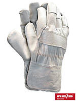Защитные перчатки усиленные яловой кожей перчатки (кожаные рабочие REIS Польша) RLCJ WJK