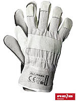 Защитные перчатки усиленные высококачественной свиной кожей перчатки (кожаные рабочие REIS) RLCJPAWA BEJK
