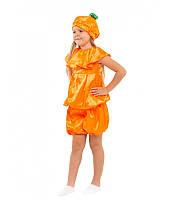 Детский маскарадный костюм Апельсин от 4 до 8 лет. Рост 104-128. Размеры  30-32-34 купить в Розницу в одессе