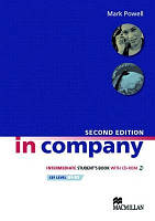 In Company 2nd Ed Interm Student's Book + CD-ROM