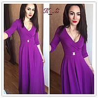 Стильное длинное женское платье у-51032405