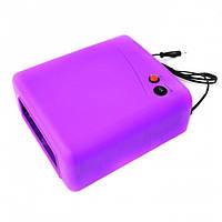 УФ лампа для сушки геля, гель-лака на 36 Вт W-818, фиолетовая