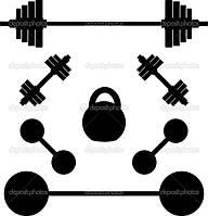 Инвентарь для тяжелой атлетики (гири, грифы, гантели)
