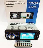 """Автомагнитола Alpine 3027 3.6"""" VIDEO экран USB+SD+FM+AUX, фото 1"""