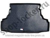 Коврик в багажник Chery Bonus A13 (11-) (Чери Бонус А13), Lada Locker