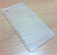 Силикон чехол бампер кейс Sony E2303, E2312, Xperia M4 Aqua Dual прозрачный