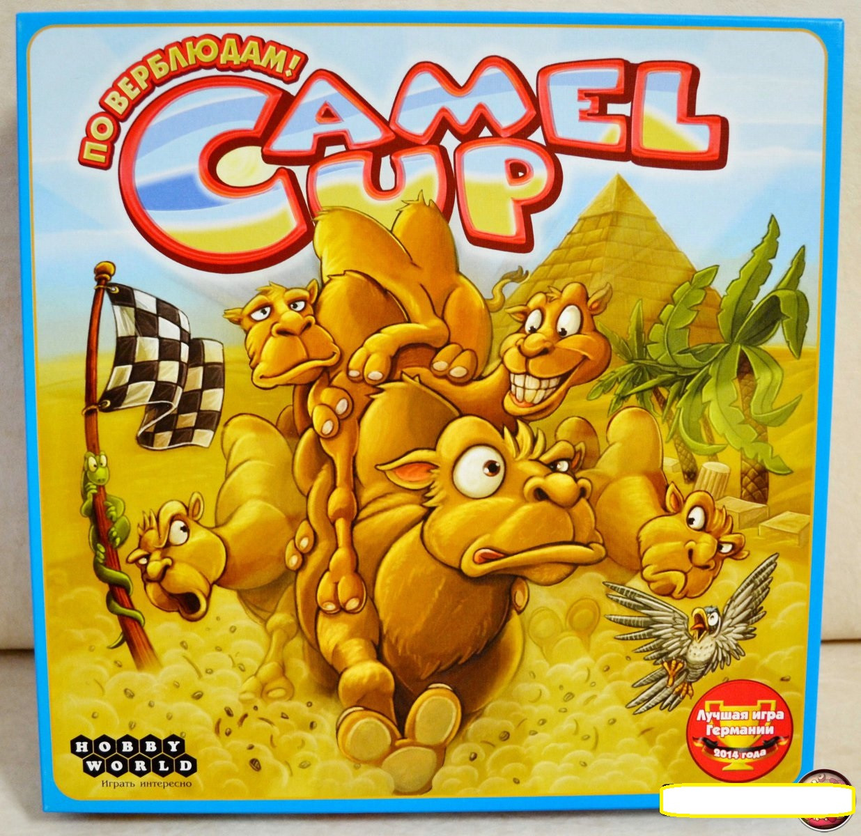 Настольная игра Camel Up (По верблюдам!)