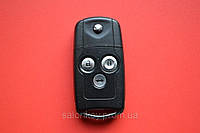 Honda accord, odissey выкидной ключ 3 кнопки 434Mhz id46 оригинал