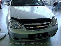 Дефлектор капота (мухобойка) Chevrolet LACETTI sedan, wagon 2004- (Шевроле Лачетти) SIM