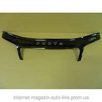 Дефлектор капота (мухобойка) Fiat Punto (188) с 2003–2010 г.в. (Фиат Пунто) Vip Tuning