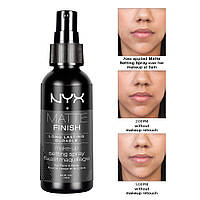 NYX MSS01 Setting Spray Matte Finish - Фиксирующий спрей для макияжа
