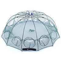 Раколовка зонтик 100 см ( 12 входов )