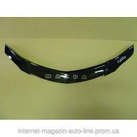 Дефлектор капота (мухобойка) Mazda 3 с 2003-2008 г.в. седан (Мазда 3) Vip Tuning