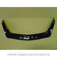Дефлектор капота (мухобойка) Mazda 3 с 2009 г.в. седан,х/б (Мазда 3) Vip Tuning