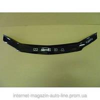 Дефлектор капота (мухобойка) Mazda 323  S/F с 2000-2003 г.в. (Мазда 323) Vip Tuning