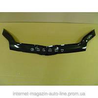 Дефлектор капота (мухобойка) Mitsubishi  Galant с 2003-2008 г.в.(до ресталинга) (Митсубиси галант) Vip Tuning