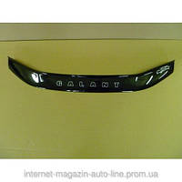 Дефлектор капота (мухобойка) Mitsubishi  Galant с 1997 – 2003 г.в. (Митсубиси галант) Vip Tuning
