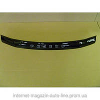Дефлектор капота (мухобойка) Mitsubishi Pajero 3 с 1998-2006г.в. (Митсубиси Паджеро) Vip Tuning