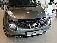Дефлектор капота (мухобойка) Nissan Juke 2011- (Ниссан Жук) SIM