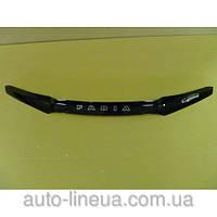 Дефлектор капота (мухобойка) Skoda Fabia (6Y) с 1999-2007 г.в. (Шкода Фабия) Vip Tuning