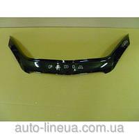 Дефлектор капота (мухобойка) Skoda Fabia (5J) с 2007-2010 г.в. (Шкода Фабия) Vip Tuning