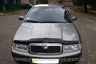 Дефлектор капота (мухобойка) Skoda Octavia Tour 1998- (Шкода Октавия Тур) SIM
