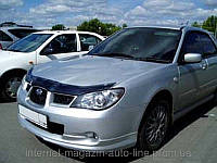 Дефлектор капота (мухобойка) Subaru Impreza 2006-2008 (Субару Импреза) SIM