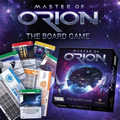Настольная игра Master of Orion рус., фото 2