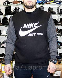 Мужская теплая толстовка Nike реплика