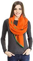 Удобный женский шарф объемный 200 на 80 dress 2939_оранж