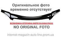 Дефлектор капота (мухобойка) VW B-5+(ресталинг) с 2001-2005 г.в. (Фольксваген Б-5) Vip Tuning
