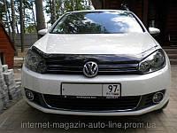 Дефлектор капота (мухобойка) Volkswagen GOLF VI 2009-2012 (Фольксваген Гольф) SIM