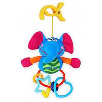 Игрушка с клипсой Baby Mix  Слон
