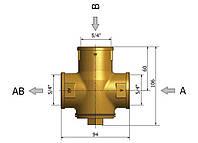 Трехходовой смесительный клапан  TSV 8 B Regulus